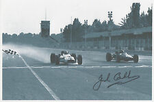 SIR JACK BRABHAM Signed 10X7 Photo FORMULA 1 LEGEND World Champion  COA