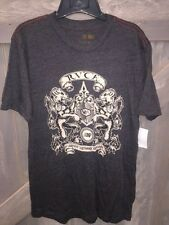 NWT MEN'S RVCA T-SHIRT SIZE MEDIUM CHARCOAL GRAY GRAPHIC SURF TEE VA ANP SKATE