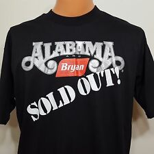 "Vintage Alabama And Bryan Foods Sold Out Promo Tshirt Sz XL 46"" Chest Made In US"