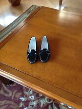 Tod's Patent Leather Black Drivers Sz 35