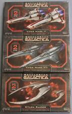 Moebius BSG Battlestar Galactica 2 Pack 3 Pack MISB Vipers & Raiders