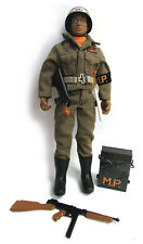 """New GI Joe Airborne Military Police 12"""" Figure LIMITED EDITION AFRICAN AMERICAN"""