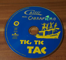 Chilli feat. Carrapicho - Tic, Tic Tac (1997), Maxi-CD mit 4 Tracks, Dance Pop