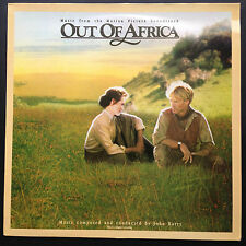John Barry OUT OF AFRICA film soundtrack OST LP 1986 Meryl Streep Robert Redford