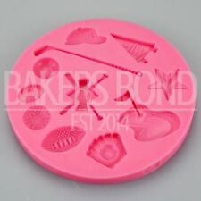 Multi Sports Themed Silicone Mould Baking Bakeware Chocolate Cupcake Cake Topper