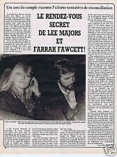 Coupure de presse Clipping 1982 Farrah Fawcett & Lee Majors  (1 page)