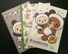 Rilakkuma Panda Notebooks - Kawaii Korean Stationery - journal blank diary