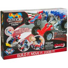 ZOOB RACERZ - FASTBACK H2H PULLBACK MOTORS 55 PIECES BRAND NEW RACE HEAD TO HEAD