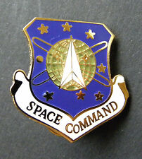 USAF Space Command Air Force Cap Hat Jacket Lapel Pin 1 inch