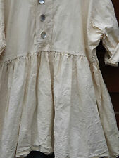 FREE SIZE CREAM COTTON RITANOTIARA PRAIRIE GYPSY BOHO SHIRT LAYERING PLUS SIZE