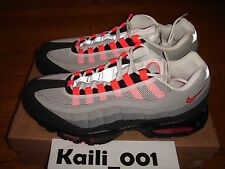 Nike Air Max 95 Size 11.5 Solar red Atmos 609048-106 Premium QS DB Animal A