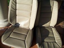 Mercedes Benz W124 chasis E class 93-95 Front leather factory seat covers beige