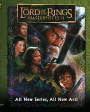 LORD OF THE RINGS MASTERPIECES II 2008 Topps COMPLETE TRADING CARD SET (1-72)
