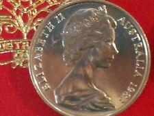 1983 5c Five Cent Uncirculated From Mint Set Royal Australian Mint ( Specimen )