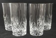 Cris D'Arques CHANTILLY TAILLE BEAUGENCY Highball Tumblers Set of 4 EXCELLENT