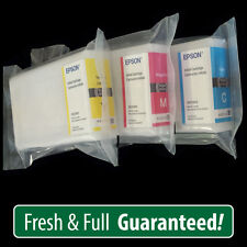 GENUINE Epson 786 initial cartridges 3 Colors for WF4640 - More ink than T786XL!