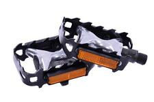 "ALLOY MTB PEDALS FROM WELLGO 9/16"" BIKE ALLOY BODY PEDALS AT BARGAIN PRICE NEW"