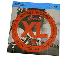 D'Addario Nickel Wound Light Top/Heavy Bottom Guitar Strings EXL140