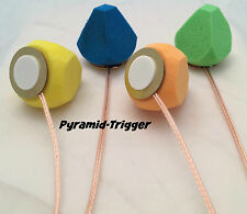 Pyramid Trigger - 27mm Piezo Trigger & Foam Pyramid Combo Electronic Drum Cone