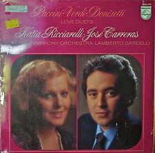 KATIA RICCIARELLI/JOSE CARRERAS: Love Duets-SEALED1980LP DUTCH IMP PUCCINI/VERDI