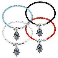 Lot of 4 HAMSA Kaballah Bracelets ~ ~ ~ ~ ~ Good Luck Strings Against Evil Eye