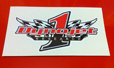 Dynojet Sticker Racing Flag 100mm for fairing Stickers Decal Stickers Bike