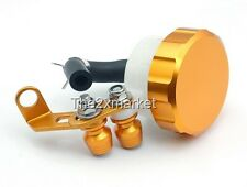 Gold US Ship New Brake Fluid Reservoir For KAWASAKI ZX6R 9R 10R 12R Z1000 ZZR