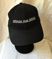 Black Baseball Cap Adjustable NV Nevada Film Office GUC