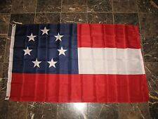 3x5 CSA Southern States Stars and Bars 7 Flag First National Flag Banner
