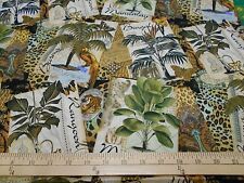 """2 yards of Springs """"Exotic Travel"""" Fabric"""
