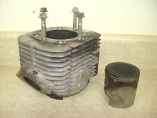 1980 80 81 YAMAHA EXCITER 440 (L2) RIGHT CYLINDER JUG PISTON (140 LB COMPRESSION