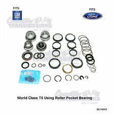 Ford GM T5 World Class 5 Speed Transmission Rebuilt Kit Bearing Synchros Seals