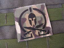 Patch Velcro - SPARTAN MULTICAM - chevalier croisade AFGHANISTAN Airsoft US