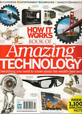 How It Works 1,100 Facts BOOK OF AMAZING TECHNOLOGY 2 Science 3D TV & PRINTERS