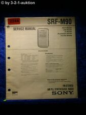 Sony Service Manual SRF M90 (#2244)