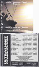 CD--ULTRALIGHT--ALPHA SYMPHONIC SOUND ORCHESTRA--SONGS OF LOVE AND FREEDOM