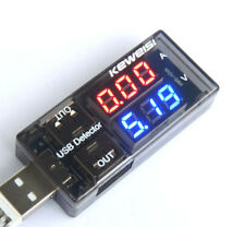 USB Charger Doctor Voltage Current Meter Mobile Battery Tester Power Detector HK