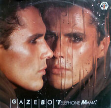 "7"" 1984 KULT IN VG++ ! GAZEBO : Telephone Mama"