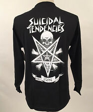 Obey Men's Long Sleeve T-Shirt Possessed Black Size M NWT Suicidal Tendencies