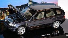 BMW X5 4.4i E53 Flavours of Asia 1999-2003 titanium grey metallic 1:43 Minicham