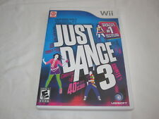 Just Dance 3 (Nintendo Wii) Complete Nr Mint!