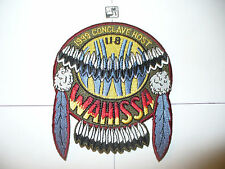 OA Wahissa 118, X-3.5, 1999 SR-7b HOST Feather Shield,pp, Old Hickory Council,NC