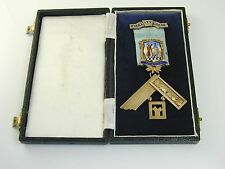 Masonic Medal Fidelity Lodge No. 4902 silver gilt dated 1965 In Faith and Trust
