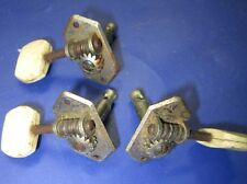 Vintage 1960s Germany Italy Europe Guitar  Tuners Set of THREE  !