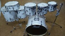 Pearl Export 7pc Drum Kit Shell Pack White Strata
