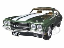 1970 CHEVROLET CHEVELLE 454 LS6 PILOT CAR GREEN  1/18 1 OF 996 BY ACME A1805504