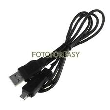 USB Data Cable for Sony VMC-MD3 DSC-W350 W380 TX5 T10 TX10 T70 T99 T100 HX9V H70
