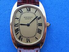 BERTHOUD GENEVE MANUAL CAL.ETA 2512 LADY 26X29mm GOLD PLATED SWISS MADE