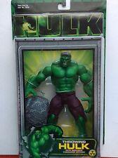 Hulk Movie Marvel 2003 Throwing Hulk With Boulder Throwing Action Toy Biz (MOC)