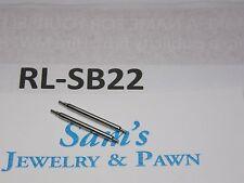 2 Swiss SpringBar 1.8x20mm Old Rolex Datejust: 1600 1601 1603 1607 1625 #RL-SB22